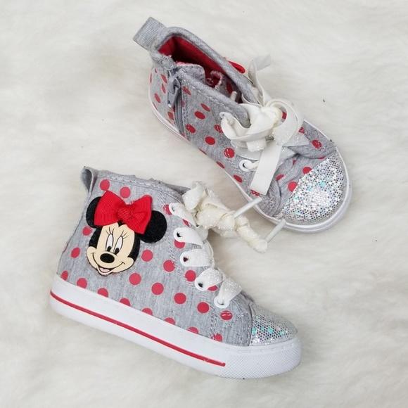 Disney Shoes | Disney Minnie Mouse High
